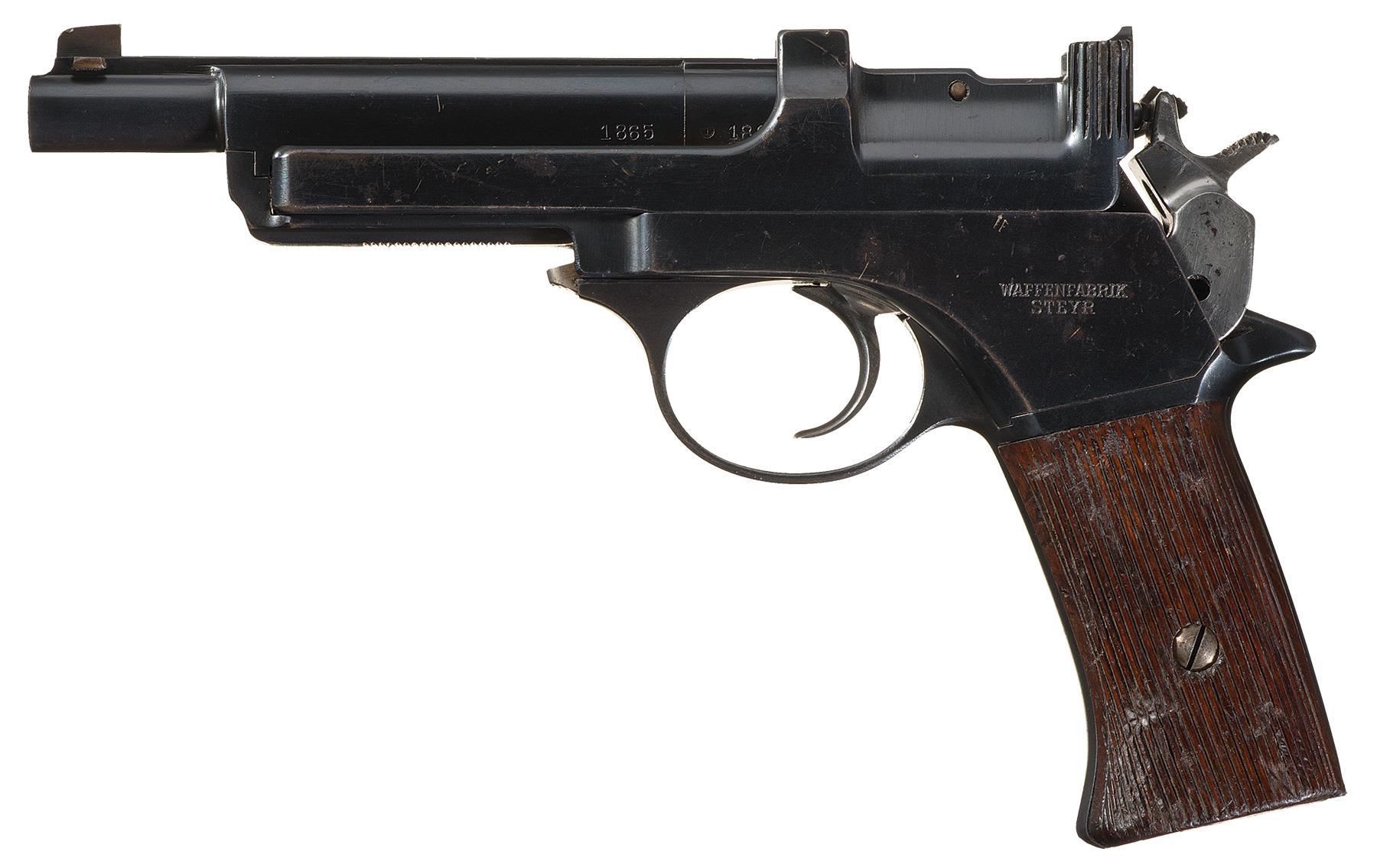 Steyr Mannlicher 'Short' Model 1905 Semi-Automatic Pistol