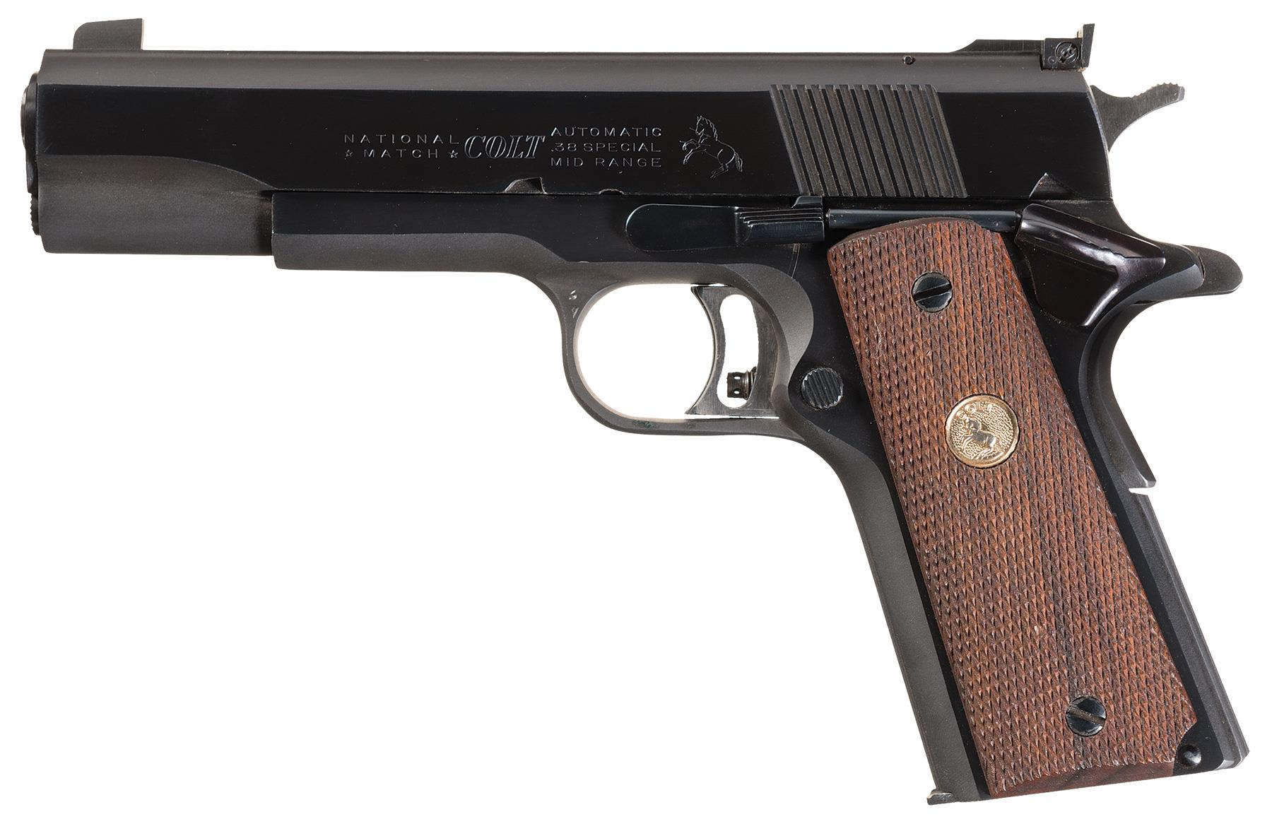 Colt National Match .38 Mid-Range Semi-Automatic